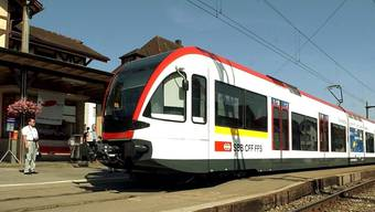Auf der Seetalbahn-Strecke zwischen Luzern und Lenzburg AG verkehren Niederflurkompositionen der SBB. (Archivbild)