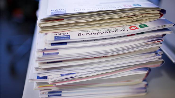 «Je früher desto besser» - die Solothurner Regierung will im Kanton bis spätestens 2020 die elektronische Einreichung der Steuererklärung einführen. (Symbolbild)