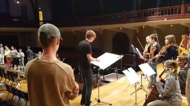 Musikschule Solothurn probt für ihr Konzert