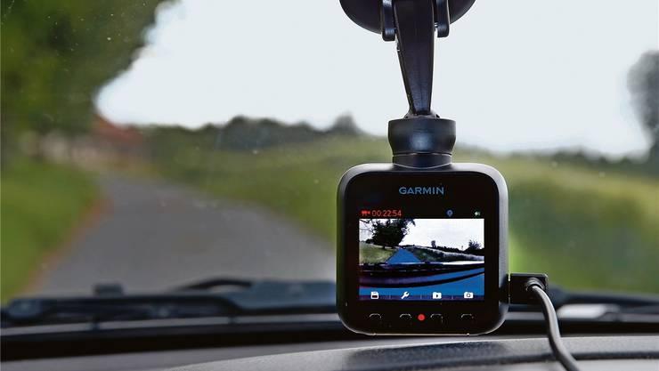 Die Aufzeichnungenvon Kameras hinter der Windschutzscheibe werden nur unter besonderen Umständen als Beweismittel zugelassen.
