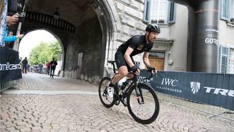 Da war die Welt noch in Ordnung: Fabian Cancellaras Showdown in der Solothurner Altstadt – bevor der folgenreiche Unfall geschah...