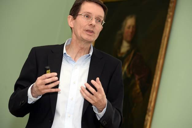 Thomas Ernst, CEO Nagra, geht davon aus, dass drei bis fünf Gebiete vorgeschlagen werden.