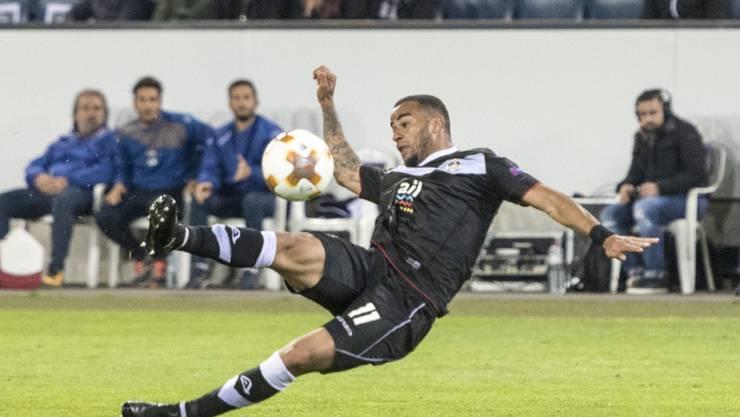 Carlinhos Junior schoss das 2:0 für Lugano