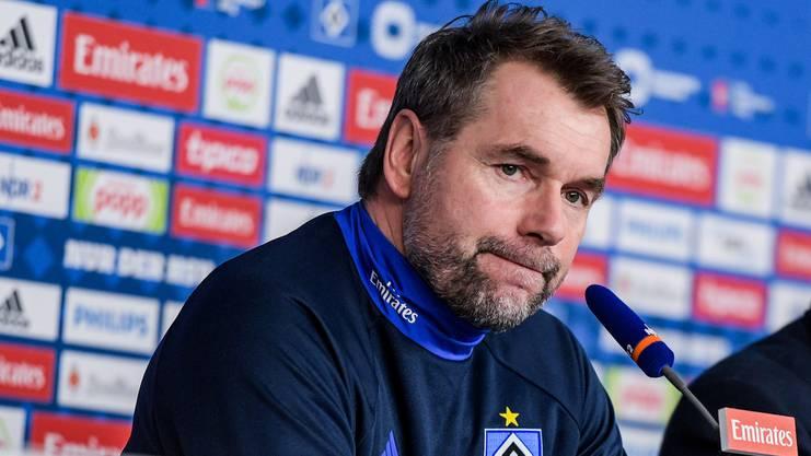 Weiss er noch weiter? Bernd Hollerbach wartet seit 23 Spielen (!) auf einen Sieg.