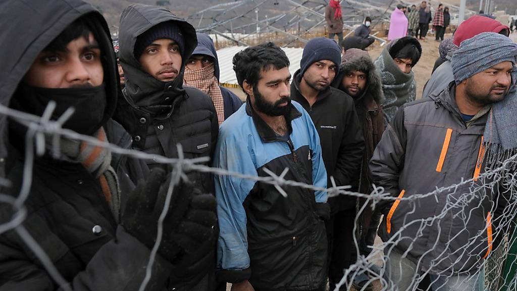 Migranten in Bosnien: Pro Asyl wirft der EU Totalversagen vor