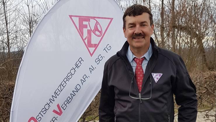 Ravaldo Guerrini, Präsident des Ostschweizerischen Fahrlehrer-Verbands.