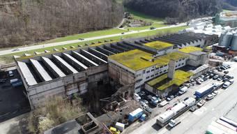 Zwischen Zerfall und Aufbruch: Die geschichtsträchtigen Giesserei- und Lagerhallen in der Klus.