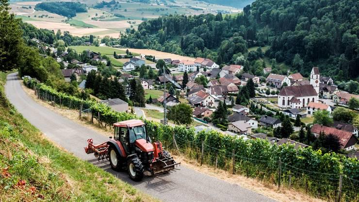 Die Gemeinde Mettauertal hat um 3,57 Prozent zugelegt.
