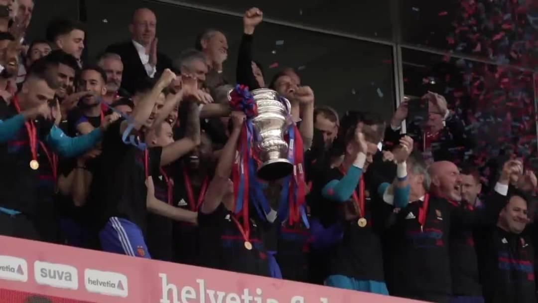 FC Basel zum 13. Mal Schweizer Cupsieger