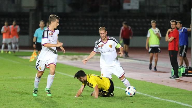Waren dem Gegner dieses Mal unterlegen: Die FCB-Junioren.