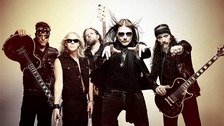 Die Band Killcode aus dem US-Bundesstaat New York.