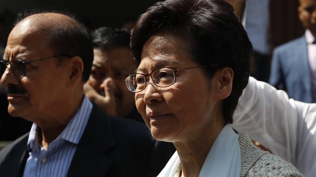 Medien: China will Hongkongs Regierungschefin Lam austauschen