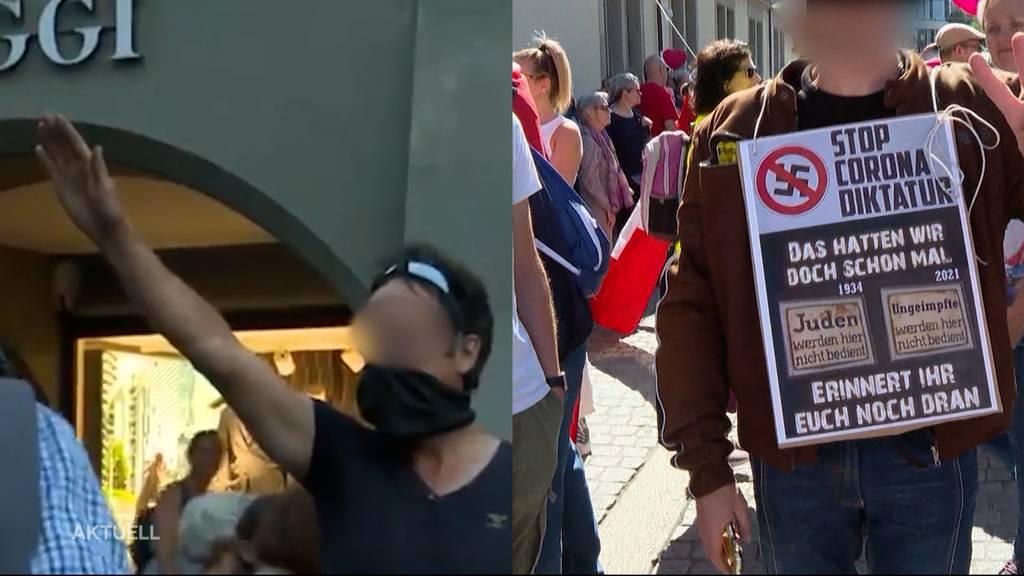 Nazi-Symbole: Aargauer SP-Präsidentin fordert Verbot