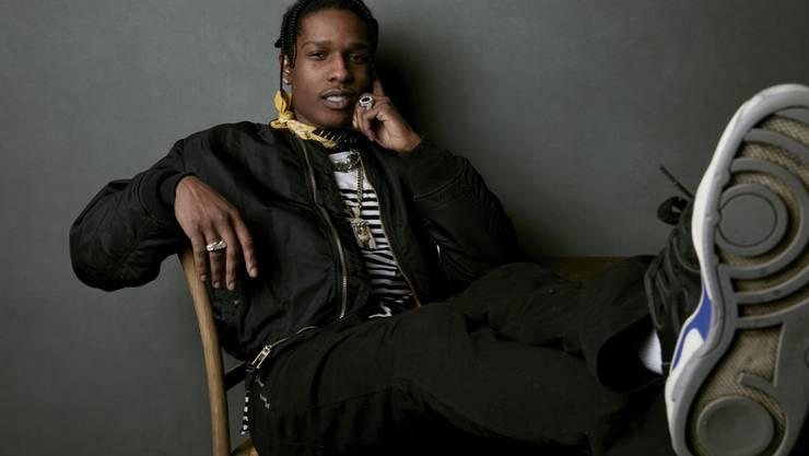 US-Rapper Asap Rocky will seinen Knastbrüdern und Freunden in Schweden Kleider spenden.
