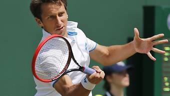 Überrascht in Wimbledon erneut: Sergej Stachowski