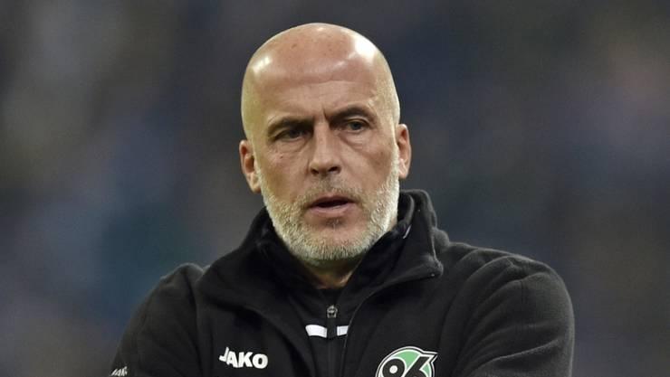 Michael Frontzeck ist in Hannover zurückgetreten