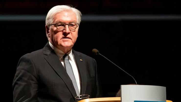 """Zum Auftakt der Münchner Sicherheitskonferenz warnt der deutsche Bundespräsident Frank-Walter Steinmeier vor einer """"zunehmend destruktiven Dynamik der Weltpolitik""""."""