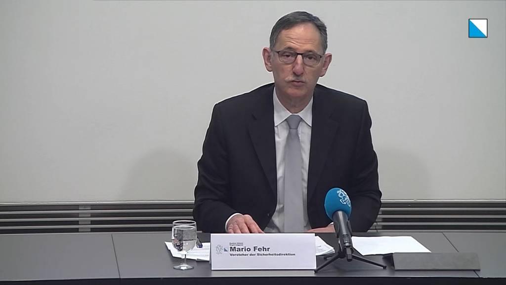 Die Kantonspolizei Zürich erläutert die Kriminalstatistik 2019