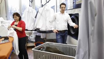 Blick hinter die Kulissen des Textilservice