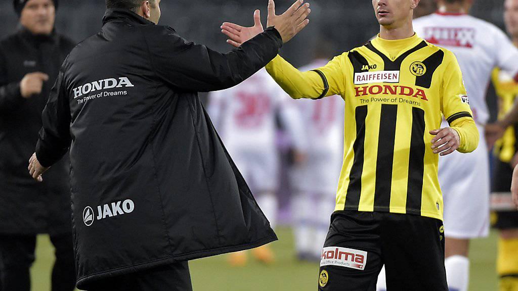 Milan Vilotic (rechts) kehrt zu GC zurück