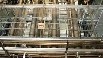 Gigantische Anlage: Thermische Alkoholverwertung seit August 2008. (Bild: ACH)