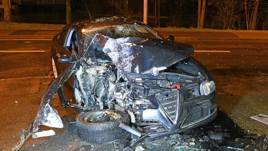 Drei Verletzte bei Autounfall in Dagmersellen