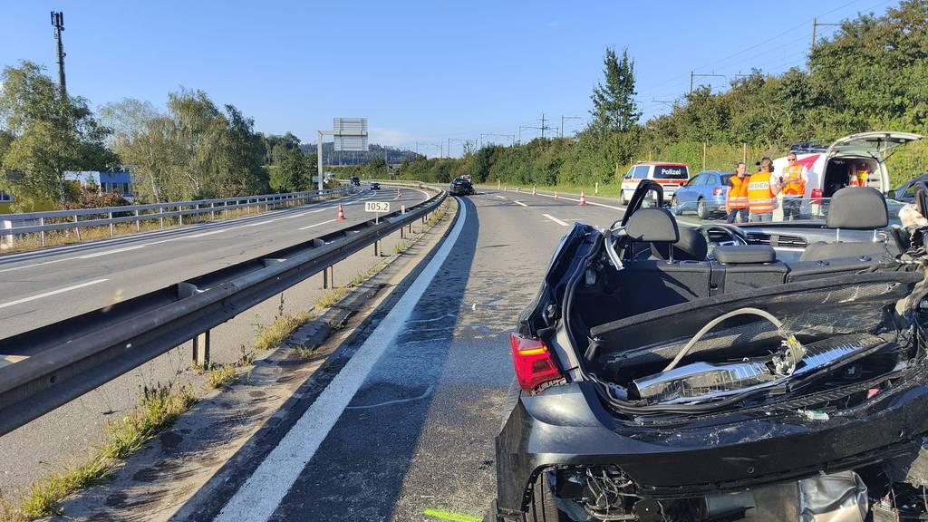Medizinisches Problem war Auslöser für Gross-Crash auf der A4