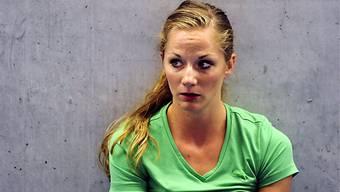 Hürdenläuferin Lisa Urech an der EM zum Zuschauen verdammt.