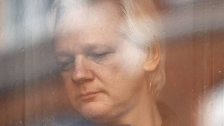 Lebt seit 2012 in der ecuadorianischen Botschaft in London: der Australier Julian Assange, Gründer der Enthüllungsplattform Wikileaks. (Archivbild)