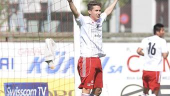 Auch Ramon Cecchini steuerte für Vaduz ein Tor zum Cupsieg bei