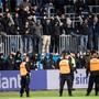 Im Mai haben GC-Ultras in Luzern einen Spielabbruch provoziert.