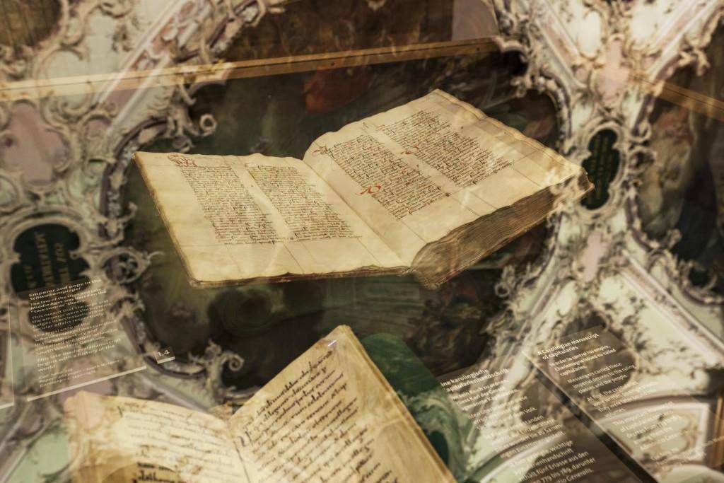 Die Stiftsbibliothek in St.Gallen (© Tagblatt Archiv/Manser/Bucher/Suter)