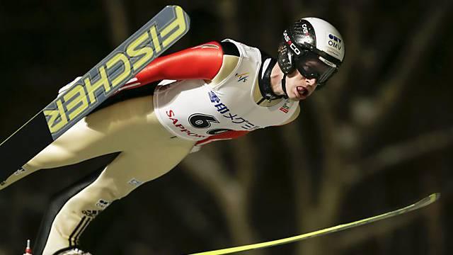 Nach Platz 3 ein Sieg in Sapporo: Roman Koudelka