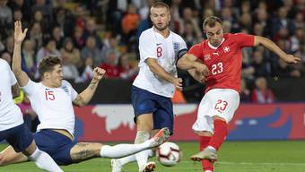 Auffällig, aber glücklos: Xherdan Shaqiri im Spiel gegen England.