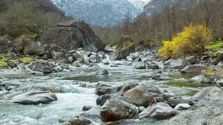 Das Maggiatal im Kanton Tessin