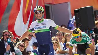 Michael Matthews Sieger der 3. Etappe im Baskenland