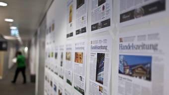 Von der freihändigen Auftragsvergabe des Bundesamts für Energie profitieren mehrere Ringier-Publikationen. Darunter die «Handelszeitung» (im Bild: Blick in deren Redaktion).