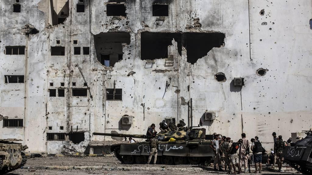 In Libyen herrscht seit dem Sturz Gaddafis Krieg – hier eine Archivaufnahme von 2016. Nun einigen sich die Kriegsgegner auf Grundsätze für den Frieden.