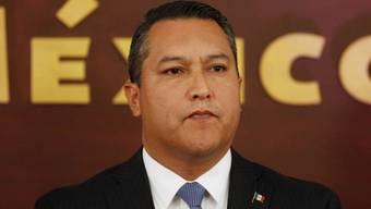 Innenminister Francisco Blake Mora galt als zweitwichtigster Mann in der mexikanischen Regierung (Archiv)