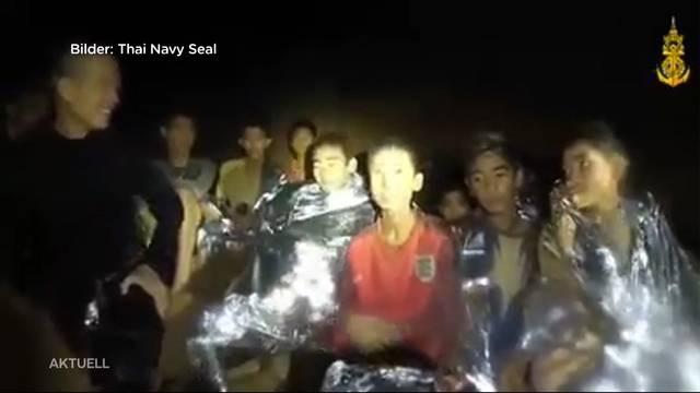 Rettung der Thailänder Fussballjungs schreitet voran