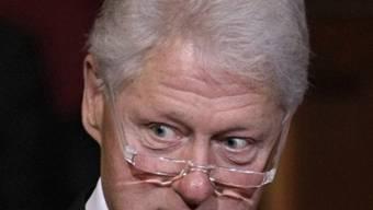 Ehemaliger US-Präsident Bill Clinton (Archiv)