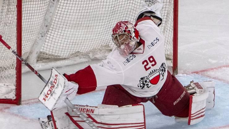 Lausannes Goalie Luca Boltshauser muss lange pausieren