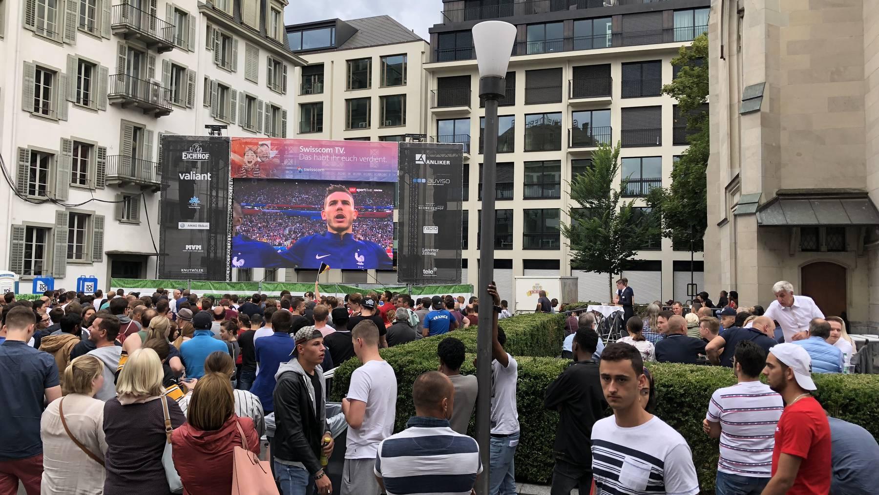 Frankreich steht im WM-Finale