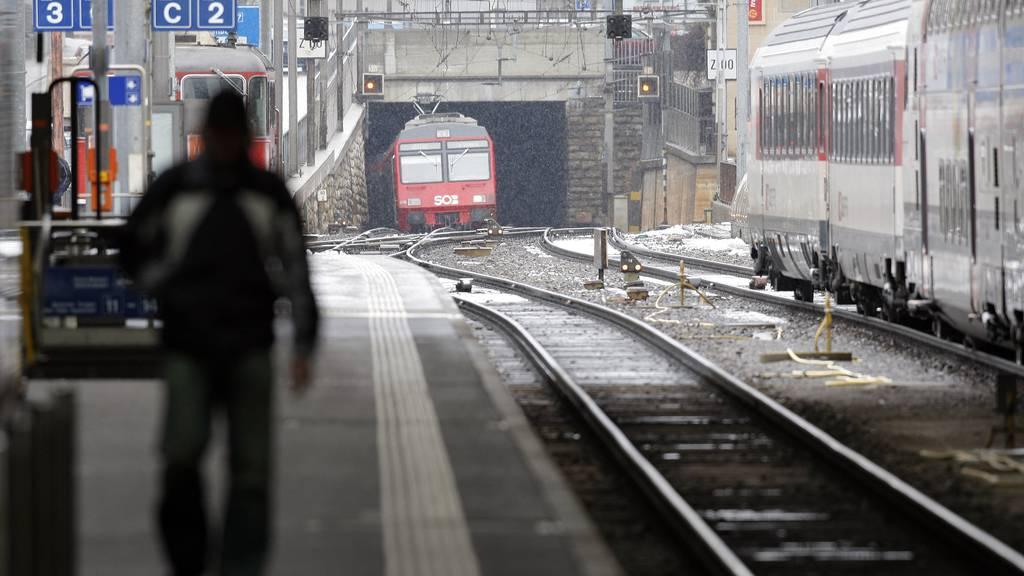 Kompletter Unterbruch der Zugstrecke am Freitagmorgen