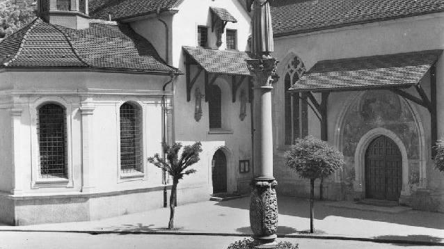 Die Franziskanerkirche - die Kirche der Sempacher Schlachtbanner