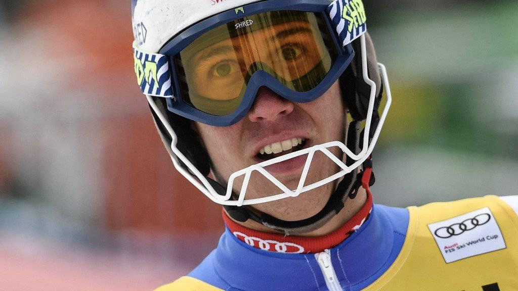 Mit Platz 16 im Wengener Slalom der beste Schweizer: Ramon Zenhäusern