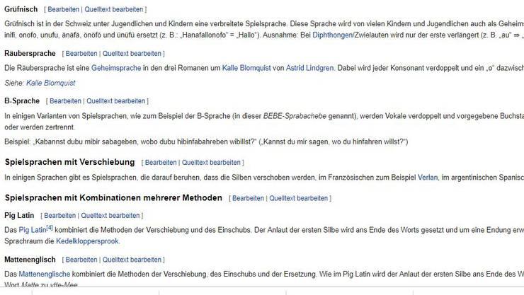Inzwischen hat Grüfnisch sogar einen Wikipedia-Eintrag.