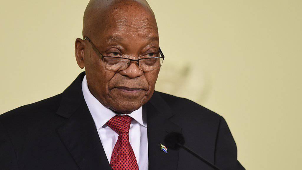 Südafrikas Präsident Zuma weicht dem Partei-Druck und tritt zurück