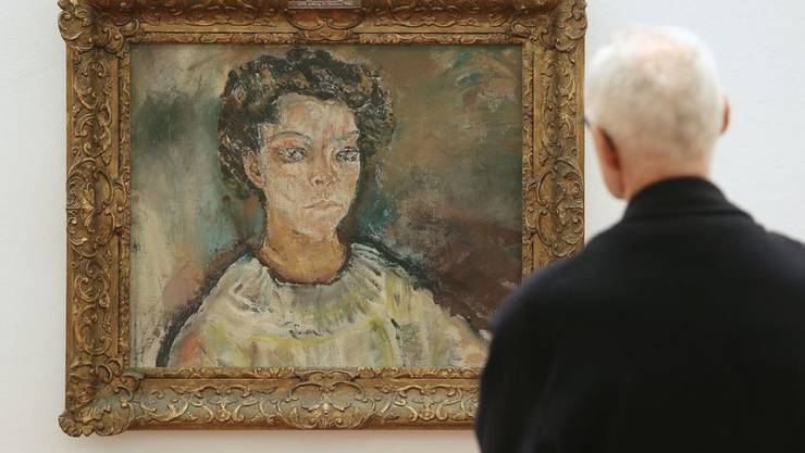 """Dieses """"Portrait Tilla Durieux"""" von Oskar Kokoschka wurde 2013 vom Museum Ludwig in Köln an die Erben des von den Nazis verfolgten Kunsthändlers Alfred Flechtheim zurückgegeben. Die Familie vermutet weitere Raubkunst in Bayern. US-Abgeordnete stützen ihr offiziell den Rücken (Archiv)."""