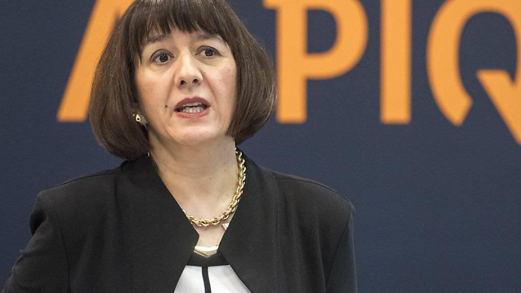 Hat nach ihrem Rücktritt bei Alpiq neue Pläne: Jasmin Staiblin (Archivbild).